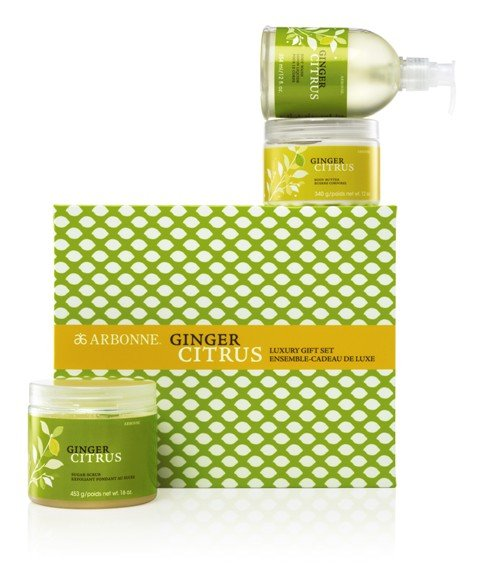 Arbonne_Ginger Citrus Luxury Gift Set 2011_web