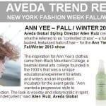 aveda trend report ann yee