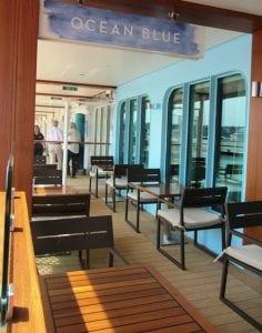NCL breakway ocean view restaurant from the outside
