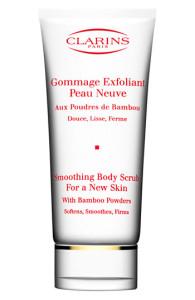 clarins smoothing body scrub