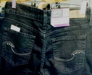 levi strauss the skinny back pockets