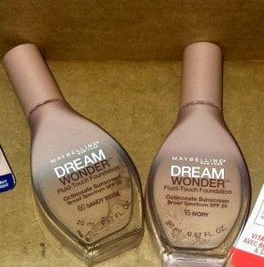 dream wonder fluid touch foundation