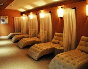 spa lounge at mount airy casino