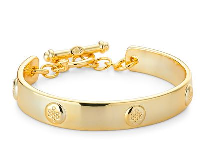 lulu avenue nottingham bracelet gold  $49