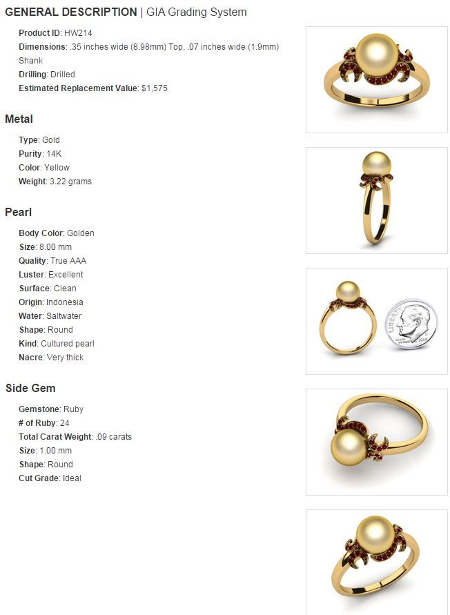 ring details