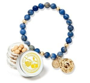 brazilian begonia fragrance bracelet by lisa hoffman