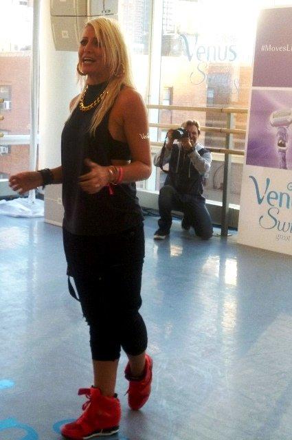 choreographer venus swirl event