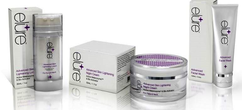 elure trio of skincare products