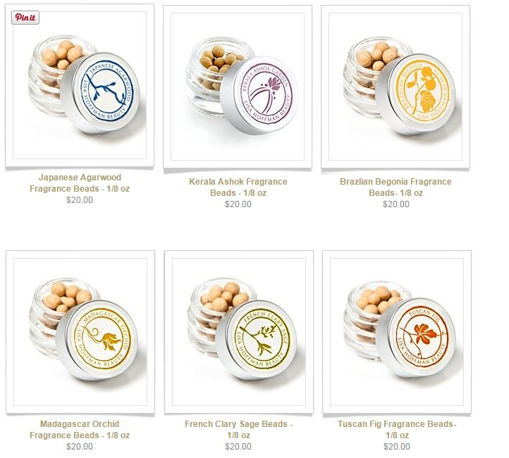 fragrance beads small size