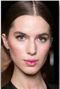 backstage BEAUTY: Le Metier de Beaute for Erin Featherston A/W 2015  @MetierBeaute, #NYFW, #fashion