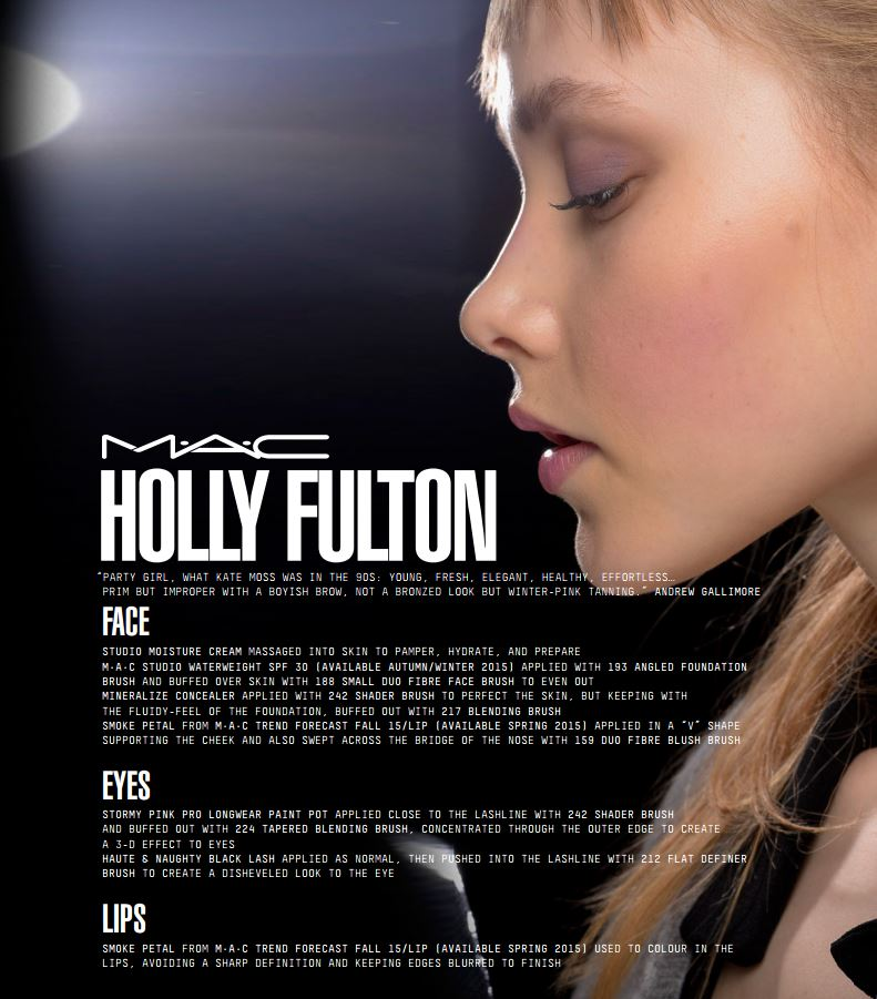 mac face chart holly fulton