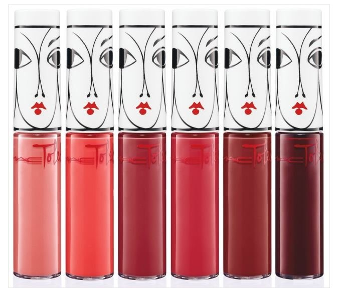 I love these lippies! I tried Victoriana a very bold & creamy rapsberry, and Opera, which might be the slickest red lip gloss on the market right now and in the nicest case, too!