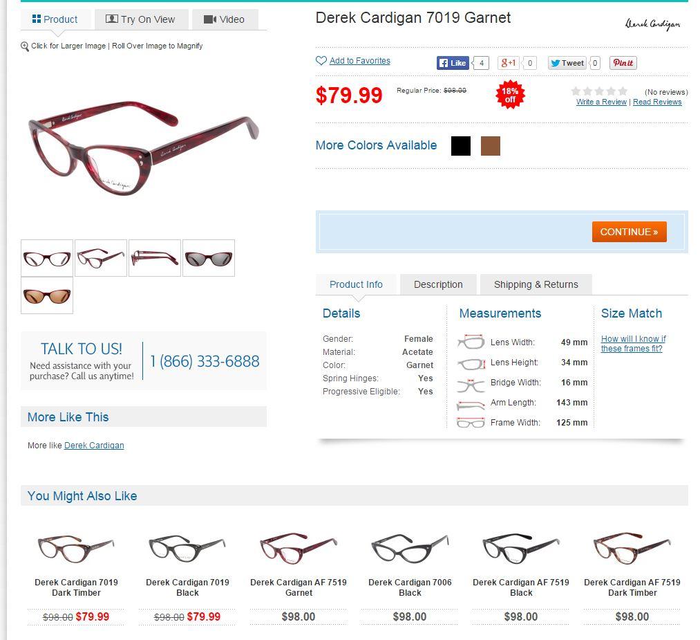 derek cardigan eyeglasses whole page