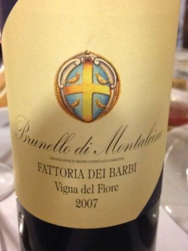 wine brunello 2007