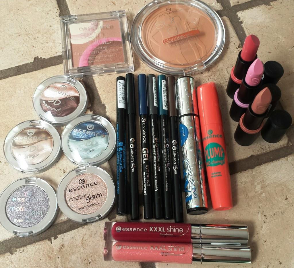 essence cosmetics products