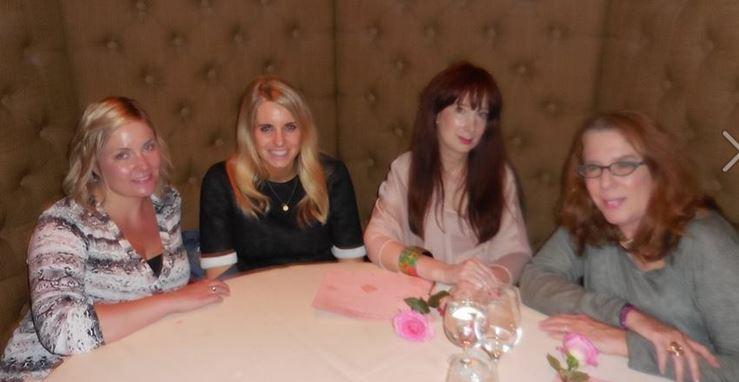 phytomer dinner at Junoon with Angela and Alisha of Phytomer and Candice Sabatini of BeautyNewsNYC
