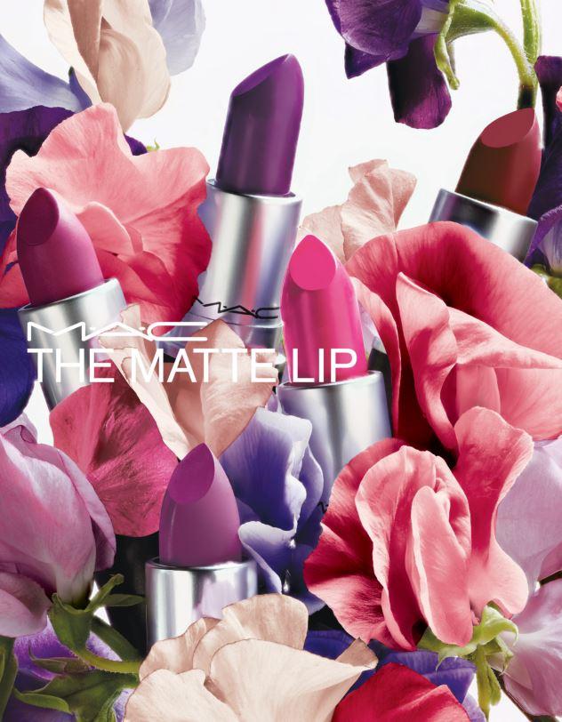 Mac cosmetics the matte lip poster