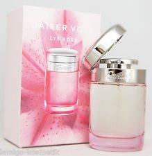 cartier baiser vole lys rose fragrance with carton and open top