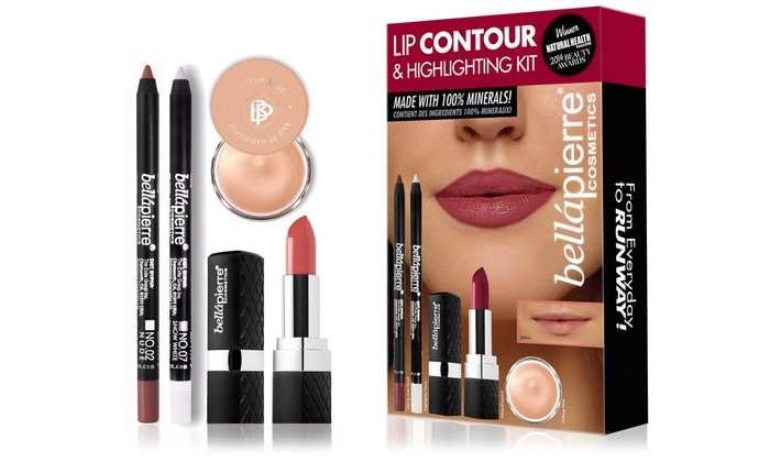 bella pierre lip contouring and highlighting kit