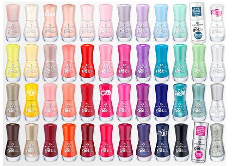 essence gel nail colors
