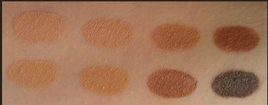 makeup revolution ultra cover and concealer palette medium to dark