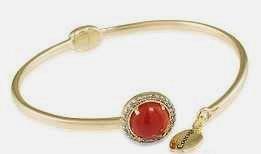 carolee courage carnelian bracelet