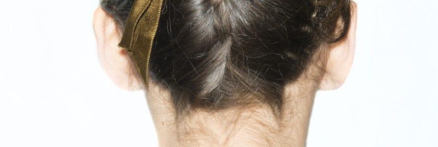 lanvin hair back of head