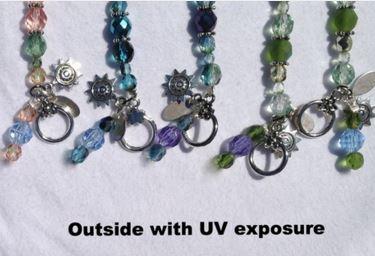uv bracelet with sun exposure