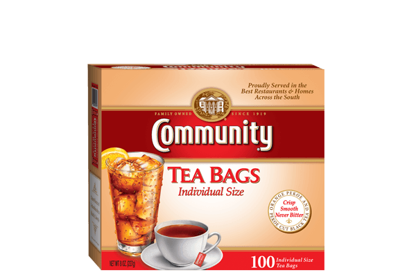 community tea