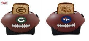 """""""Toast"""" the seaon with one of these football toasters"""