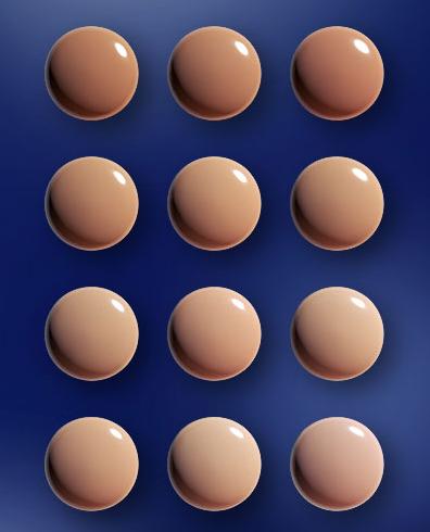 la prairie foundation spf 15 caviar colors