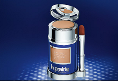 La Prairie skin caviar foundation and concealer
