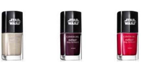 star wars nail gloss shades cover girl
