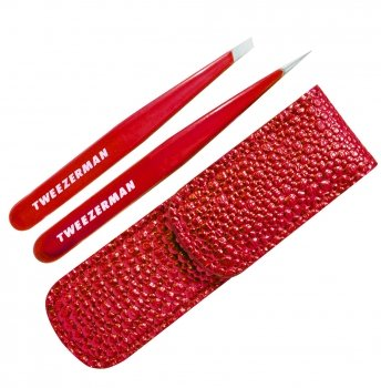tweezerman candy apple tweezer in case set