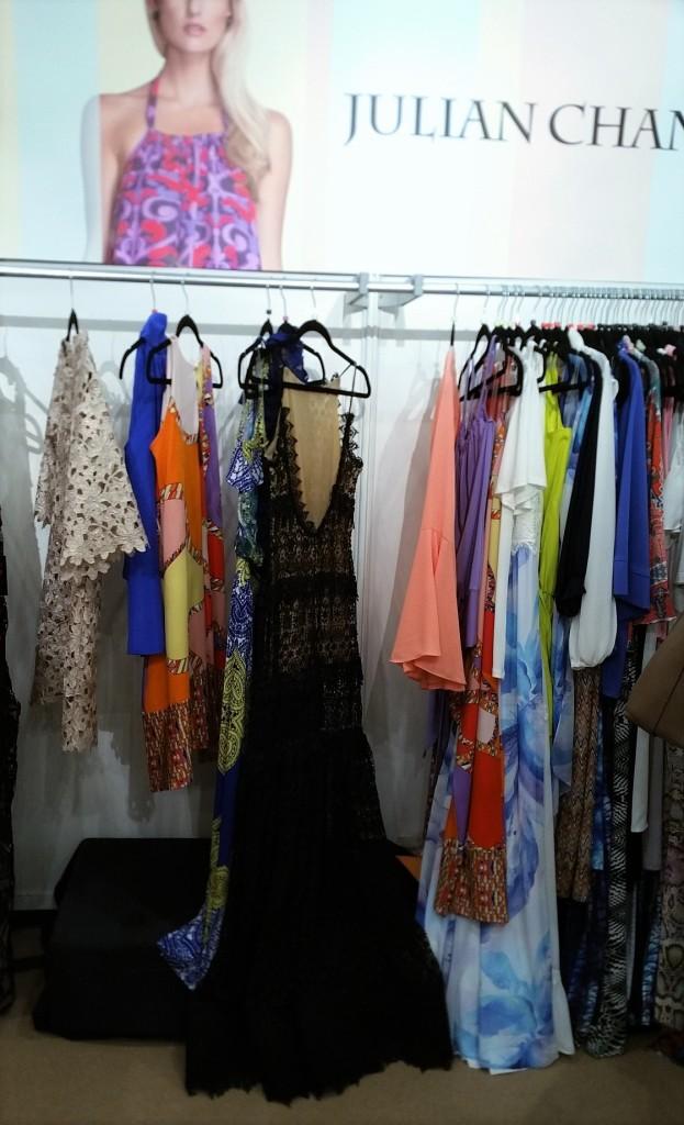 Julian Chang's booth at Moda Manhattan Spring/Summer 2016