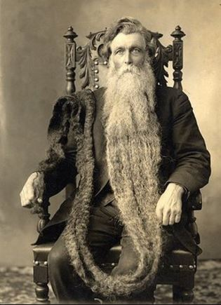 very long beard