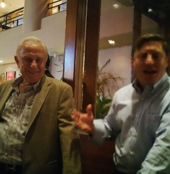 Peter and Gus Chimos