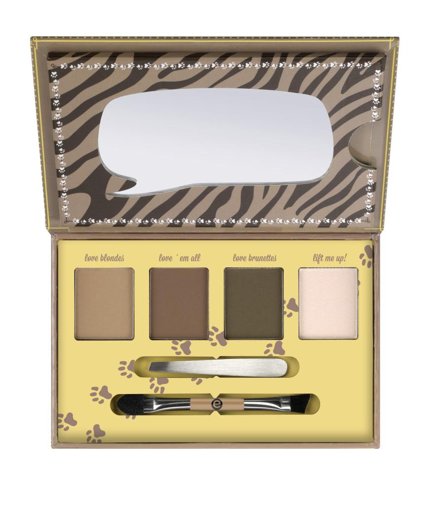 target exclusive makeup box essence brows