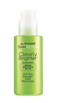 Garnier CLEARLY BRIGHTER ANTI SUN DAMAGE