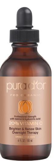 Pura D'or 20% Vitamin C argan oil
