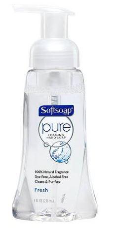 Softsoap Pure Foaming Hand Wash Fresh