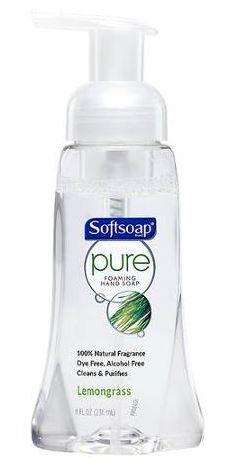 Softsoap Pure Foaming Hand Wash Lemongrass