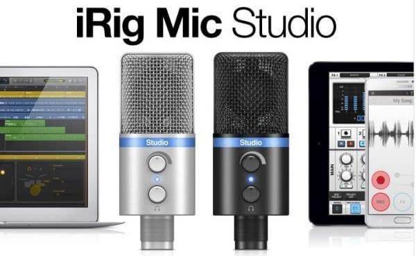 irg mic studio digital studio microphone