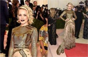 RACHEL MCADAMS 2016 MET GALA Manus x Machina: Fashion in an Age of Technology #narsissist