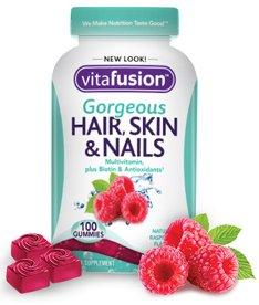 vitafusion gorgeous hair skin nails