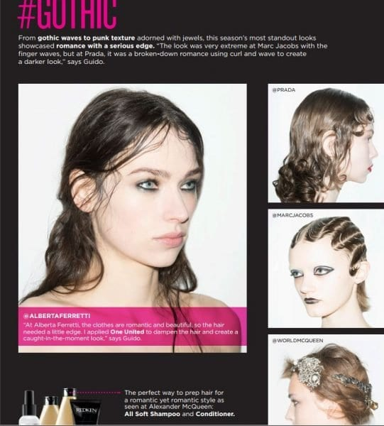 redken fall 2016 hair trends gopthic