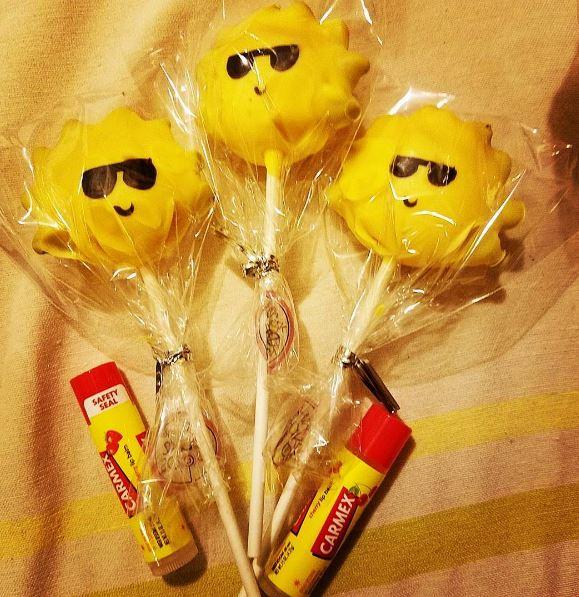 f Carmex® Lip Balm Sticks with SPF 15,