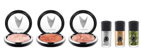 MAC Cosmetics Star Trek Collection blush and nail polish