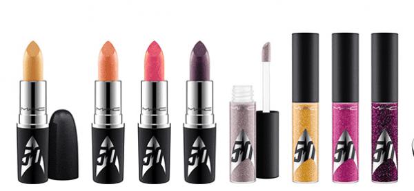 MAC Cosmetics Star Trek Collection lipsticks and glosses