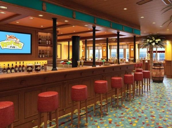 Carnival Vista's Red Frog Pub carnival cruise line
